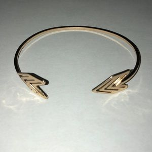 Jewelry - Gold Arrow Cuff Bracelet